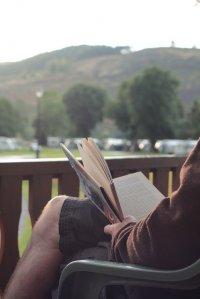 Relaks przy lekturze